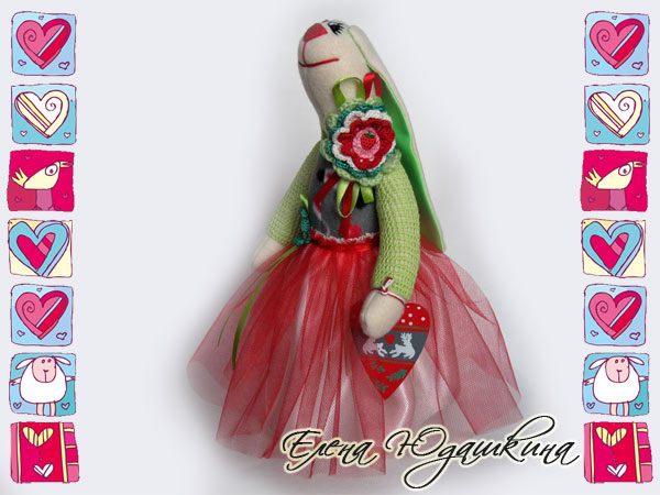 Кукла зайка тильда