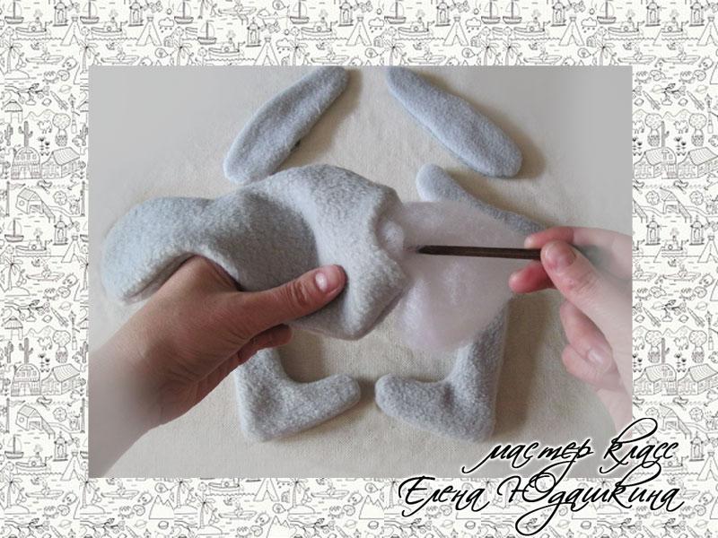 Как сшить зайца своими руками мастер класс 772