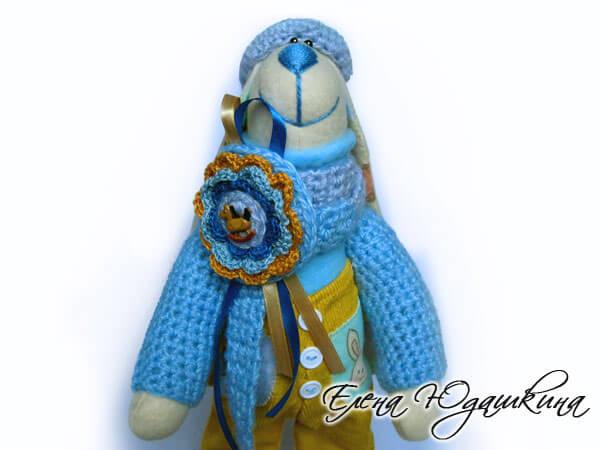 Солнечный заяц с голубым носом
