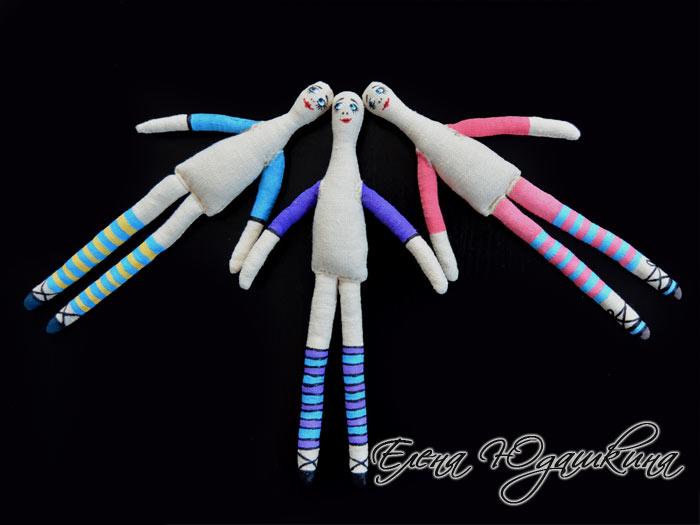 Расписанные куколки